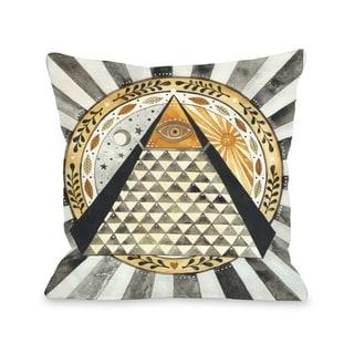 All Seeing Eye   Pillow by Ana Victoria Calderon