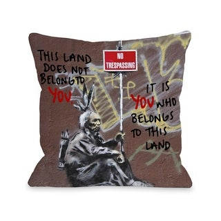 Belong to Land - Multi  Pillow by OBC