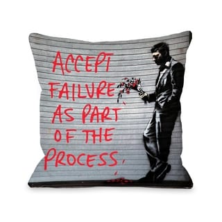 Accept Failure - Multi  Pillow by OBC