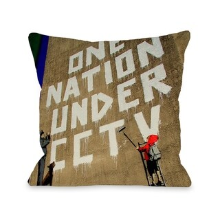 One Nation - Multi  Pillow by OBC