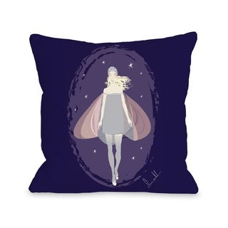 Fairy - Purple Multi Pillow by Don Oehl (2 options available)