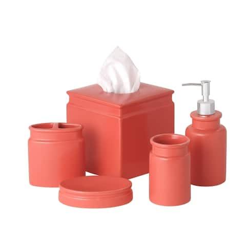 Orange Bathroom Accessories Find Great Bath Towels Deals