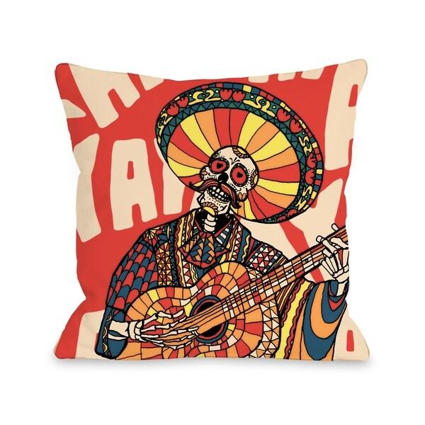 Mariachi - Multi Pillow by Ali Gulec