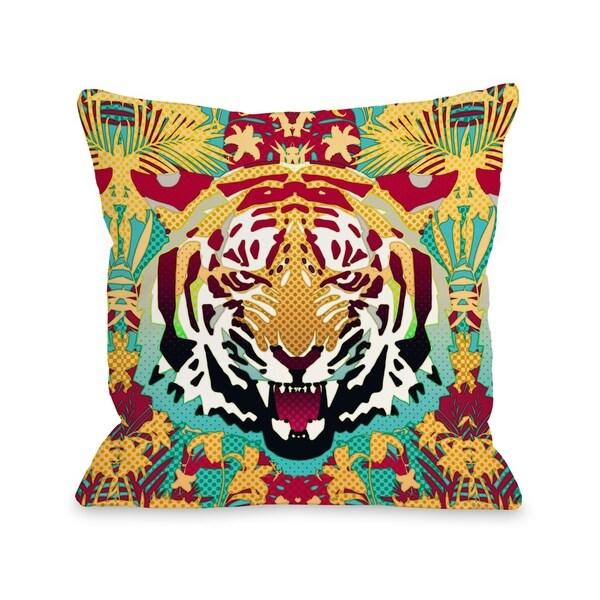 Tiger - Multi Pillow by Ali Gulec