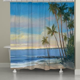 Laural Home A Day in the Tropics Shower Curtain