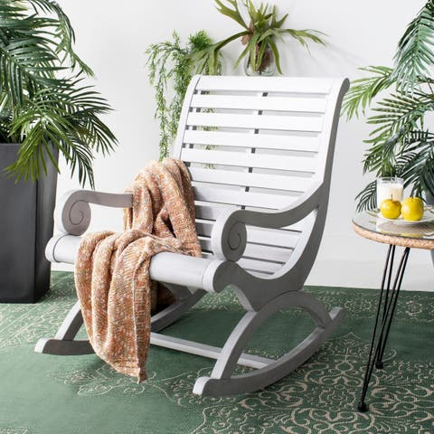 Safavieh Outdoor Living Sonora Rocking Chair - Ash Grey