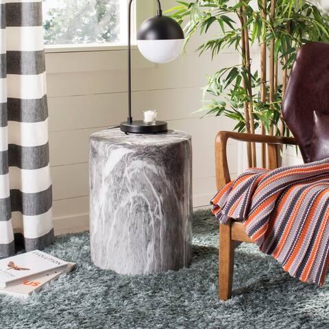 Safavieh Forster Marble Indoor / Outdoor Ceramic Decorative Garden Stool