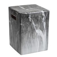 Safavieh 16-inch Avila Marble Indoor / Outdoor Garden Stool - Grey