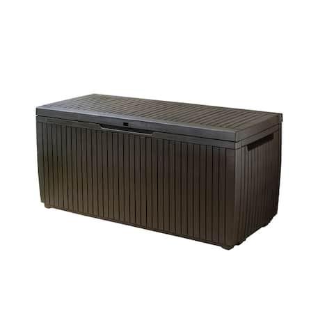 Keter Springwood 80 Gallon All-weather Storage Deck Box