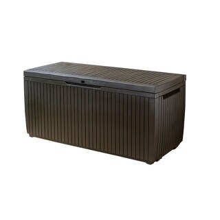 Keter Springwood 80 Gallon All-weather Storage Deck Box