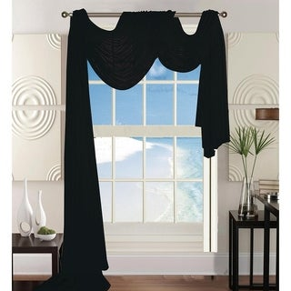 "Elegant Comfort Beautiful Window Panel Curtain Sheer Voile Scarf 55"" X 216"""