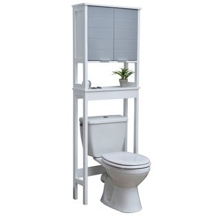 Evideco Bathroom Over The Toilet Space Saver Cabinet-Modern D