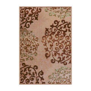 Superior Designer Amber Printed Area Rug Non-Slip - 2' x 3'