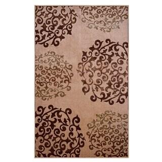Superior Designer Amber Printed Area Rug Non-Slip - 8' x10'