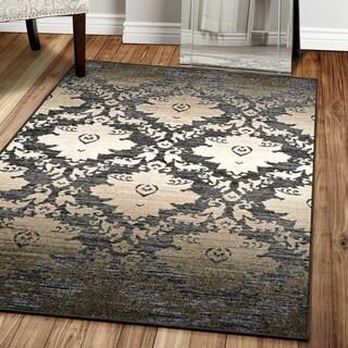 Superior Designer Geneva Printed Area Rug 8' x 10' Non-Slip
