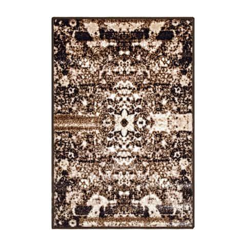 Superior Designer Oswell Printed Area Rug Non-Slip - 2' x 3'