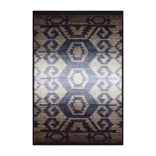 Miranda Haus Abramson Printed Non-Slip Indoor Area Rug - 2' x 3'