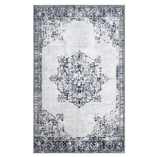 Miranda Haus Designer Decklan Printed Area Rug Non-Slip - 5' x 8'