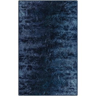 "Brumlow Mills Everest Blue, Modern Abstract Area Rug BLUE - 2'6"" x 3'10"""