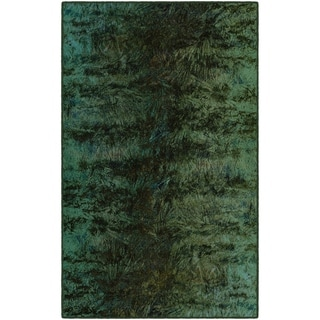 "Brumlow Mills Everest Green, Modern Abstract Area Rug GREEN - 2'6"" x 3'10"""