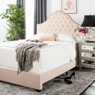 "Safavieh Bedding Beckham Full size bed - Beige - 82.8"" x 58.5"" x 58.25"""