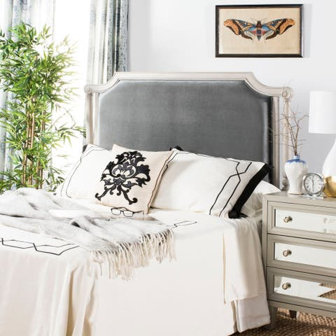 Safavieh Bedding Hudson Queen size headboard - Grey