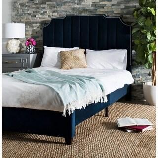 "Safavieh Bedding Streep Queen size bed - Navy - 64"" x 87.5"" x 55"""