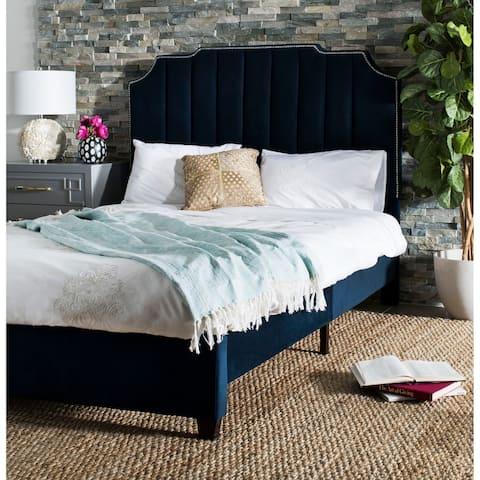 Safavieh Bedding Streep Queen size bed - Navy