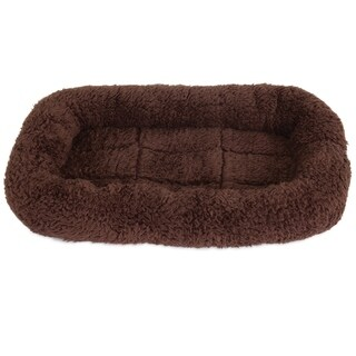 Petmate Plush Bolster Kennel Mat (More options available)