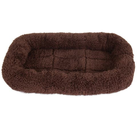 Petmate Plush Bolster Kennel Mat