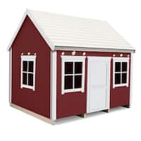 Handcrafted and furnished playhouse Nordic Nario (6x8 ft)