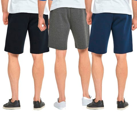 Knocker Men'S Fleece Shorts