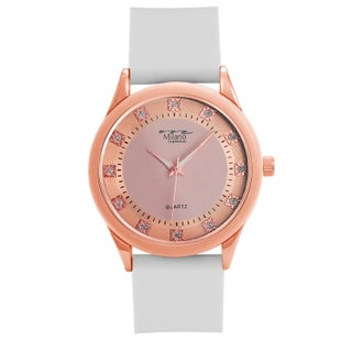 M Milano Expressions Silicon Strap Watch -45841