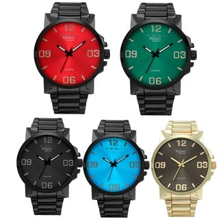 M Milano Expressions Metal Band Watch with Dial -45351