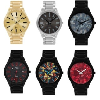 M Milano Expressions Metal Band Watch -45581