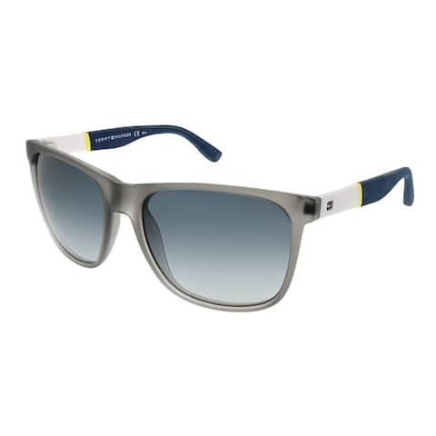 92680db9f7e7 Tommy Hilfiger Rectangle TH 1281/S FME HD Unisex Gray White Frame Grey  Gradient Lens