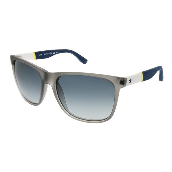 5b4f910a2a Tommy Hilfiger Rectangle TH 1281 S FME HD Unisex Gray White Frame Grey  Gradient Lens