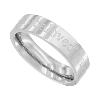 Wholesale Christian Gifts I Am For My Beloved - Woman Promise Ring - Size 6