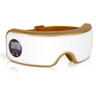 SereneLife Smart Eye Massager with Heat & Pressure Point Therapy