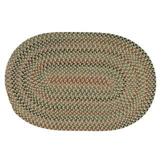 Colonial Mills Capetown Lily Green/Multicolored Wool Area Rug - 12' x 15'