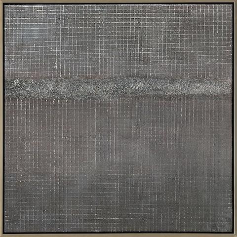 Aurelle Home Contemporary Modern Abstract canvas Wall Décor