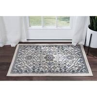 Alise Rugs Hamilton Traditional Oriental Scatter Mat Rug