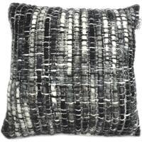 Aurelle Home Feather Insert 20-inch Toss Pillow