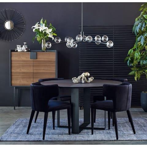 Aurelle Home Globe Large Modern Glass Pendant Lamp