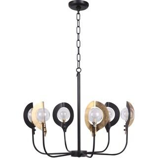 Aurelle Home Modern 6-light Chandelier Pendant Lamp