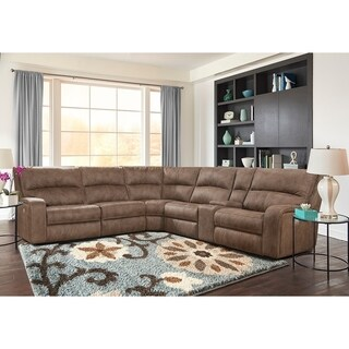 Gerald Power Reclining Sectional Sofa and Arm Chair Set