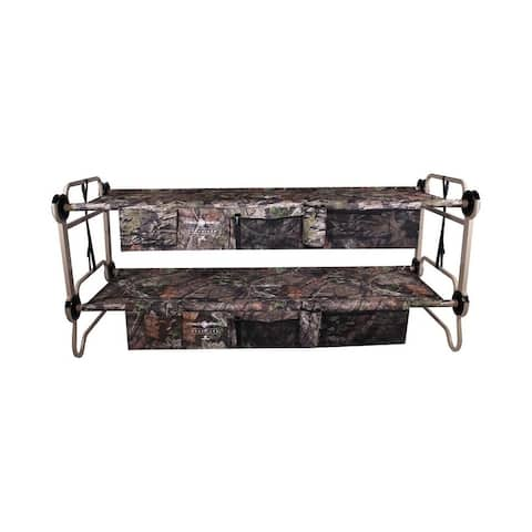 Large Cam-O-Bunk with 2 Side Organizers with Mossy Oak® - Green