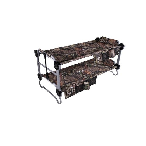 Kid-O-Bunk with 2 Side Organizers with Mossy Oak® - Green