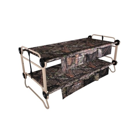 Extra Large Cam-O-Bunk with 2 Side Organizers with Mossy Oak® - Green