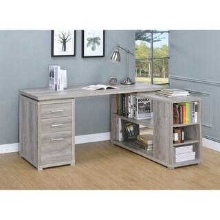 Yvette L-shaped Office Desk